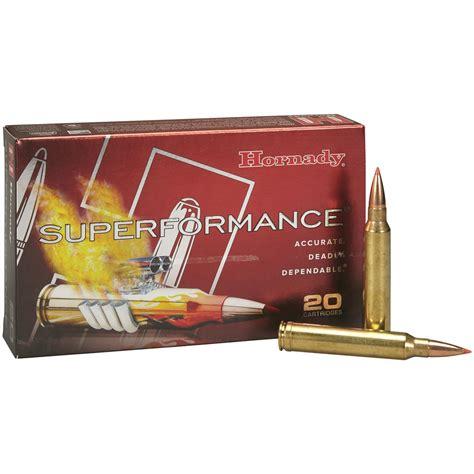 Hornady Superformance Ammo 300 Wsm 165gr Gmx 300 Wsm 165gr Gmx 20box