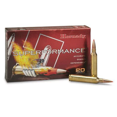 Hornady Superformance Sst Ammo 7mm Remington Mag 162 Grain