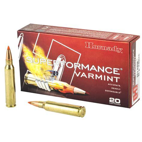 Hornady Superformance Varmint 223 Remington V-MAX 53
