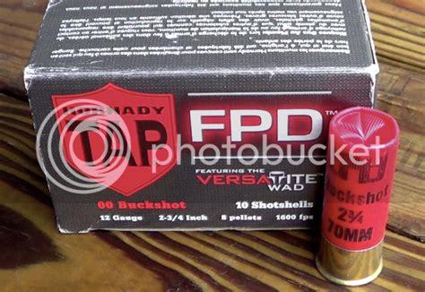 Hornady TAP FPD 12 Gauge 00 Buckshot VersaTite Ballistics Gel Test HD