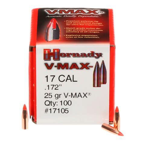 Hornady V Max Bullets 17 Caliber (0 172