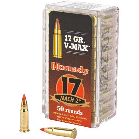 Hornady Varmint Express 17 Mach2 17gr Vmax Ammo 50
