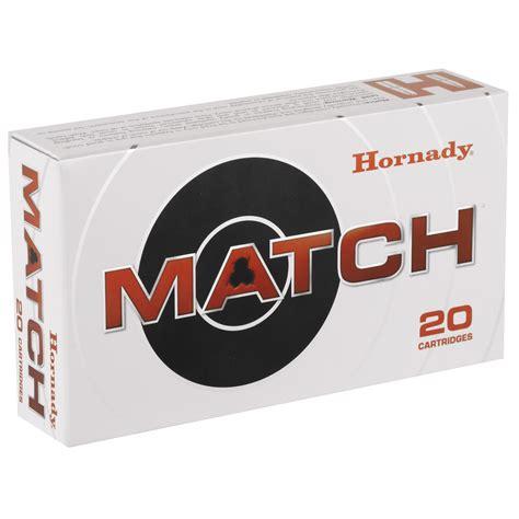 Hornady Winchester Match 155gr Ammo Eld 308 20box