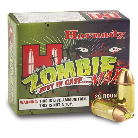 Hornady Zombie 20 Count 45 Cal Ammo