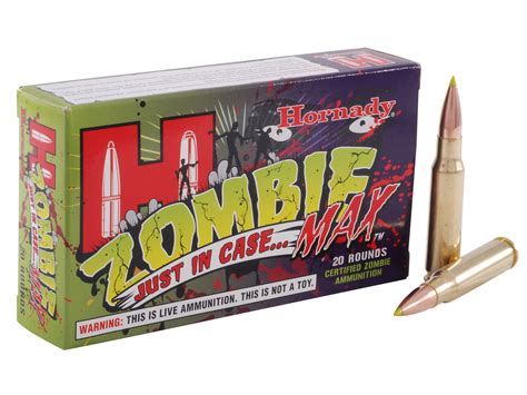 Hornady Zombie Max 308 Win 168 Grain Z-MAX 20 Round Box