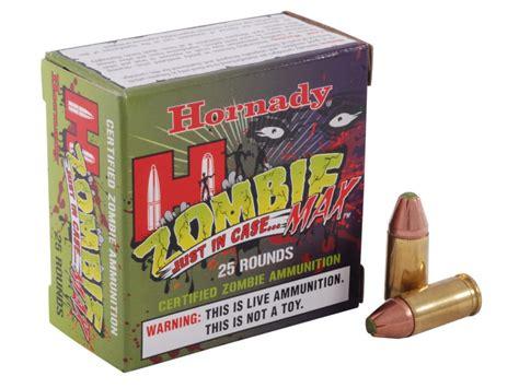 Hornady Zombie Max Ammo 9mm Luger 115 Grain Zmax Flex Tip