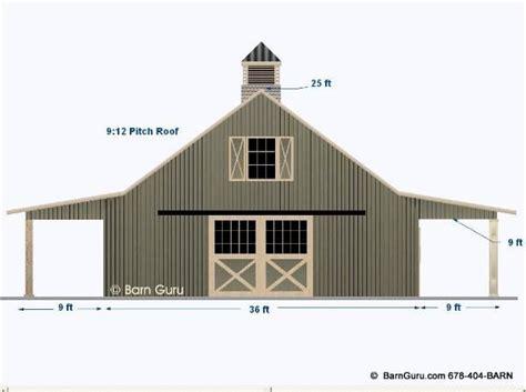 horse barn plans.aspx Image