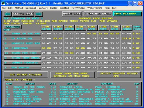 Horse Racing Handicapping Software Reviews