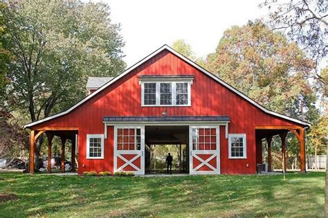 Horse barn with apartment plans Image