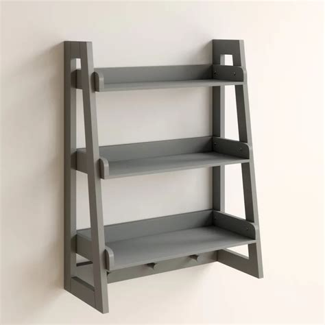 Hoschton Ladder Wall Shelf