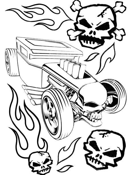 Hot Wheels Malvorlagen Gratis