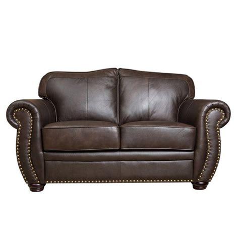 Hotchkiss Leather Loveseat
