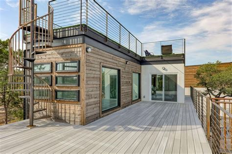 House Made Completely Out Of Shipping Containers