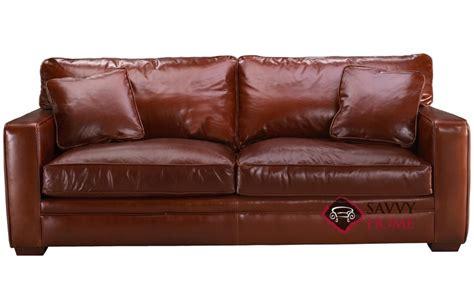 Houston Leather Sleeper Sofa