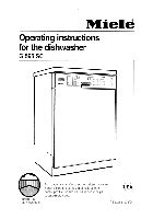 how to clean a miele dishwasher pdf manual
