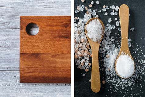 how to clean old wood cutting boards