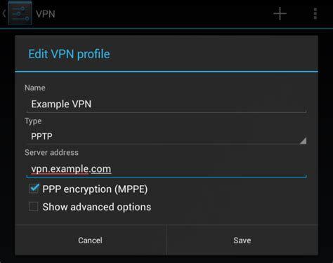 5) How To Create Vpn Profile In Android Programmatically