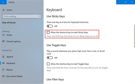 10) How To Disable Sticky Keys Windows 10 Search The Best