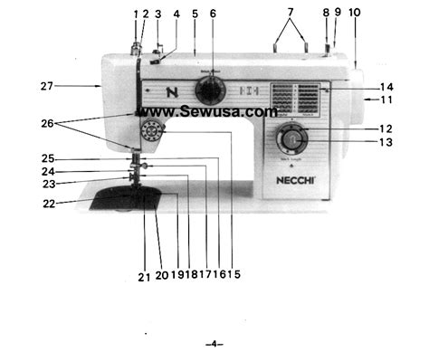 how to thread a bobbin on a necchi sewing machine pdf manual