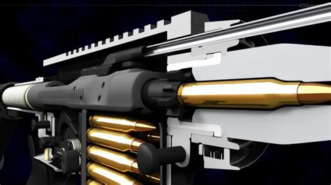 How An Automatic Rifle Works