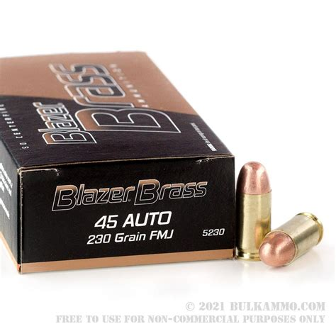 How Blazer Ammo Is Made For 45 Acp