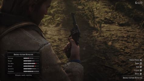 How Do You Clean Guns In Red Dead Redemption 2