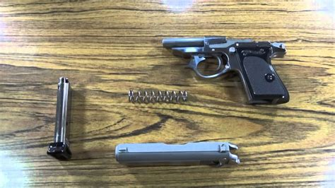 How Do You Filed Strip A Walther Ppk