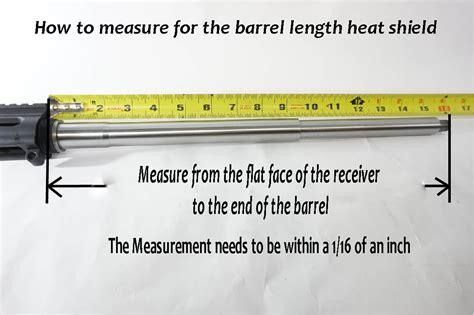 How Do You Measure Barrel Length On A Rifle