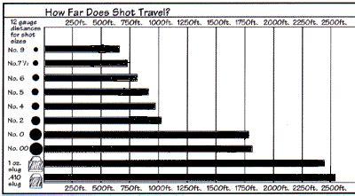 How Far Does A 12 Gauge Shotgun Shot Travel
