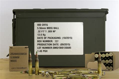 How Many 5 56 Rounds Come In An Ammo Can