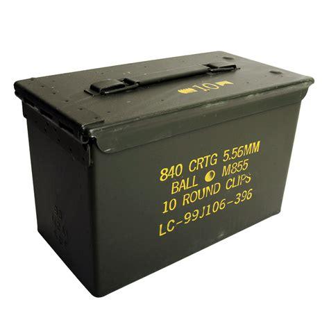 How Mcuh 40 Swbrass In 50cal Ammo Can
