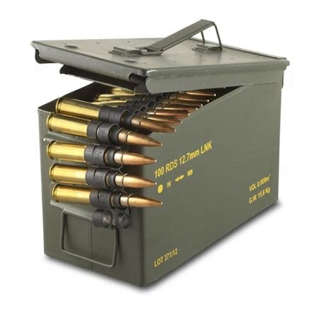 How Much Does A Ammo Box Of 50 Cal Cost
