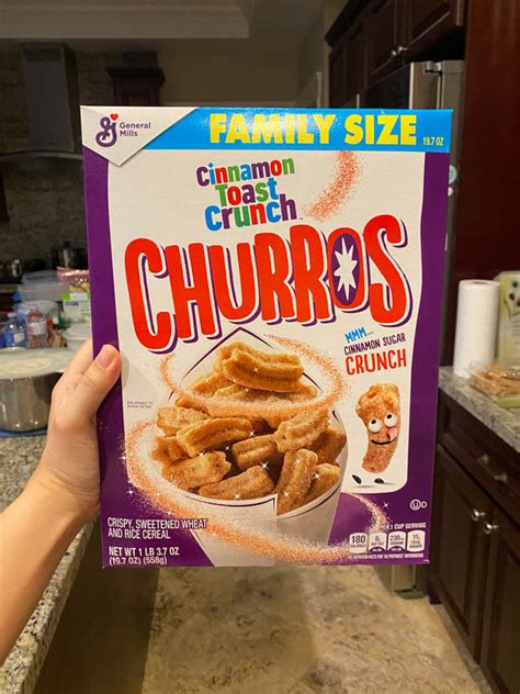 How Much Iron Is In Cinnamon Toast Crunch