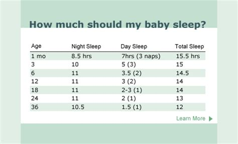 How Much Should Baby Nap During The Day