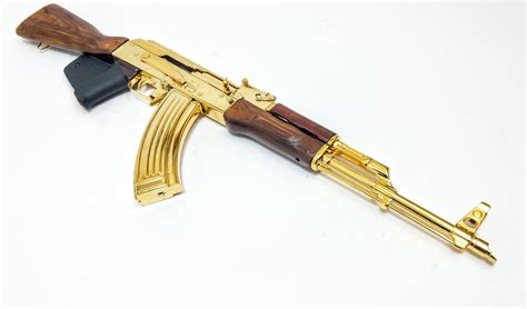 How Much Would A Gold Plated Ak 47 Cost