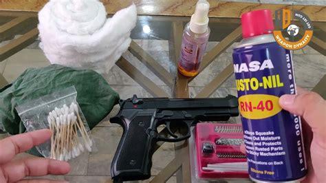 Beretta-Question How Often To Clean Beretta 92fs.