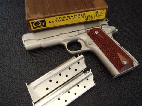 How Rare Is A Colt 1911 9mm In Satin Chrome