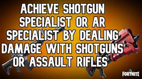 How To Achieve Shotgun Specialist