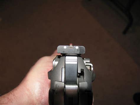 Beretta-Question How To Adjust Beretta 92fs Sights.