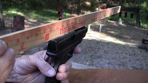 How To Adjust Sights On A Handgun