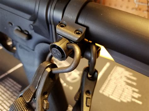 How To Attach A Sling To A Ruger Ar 556