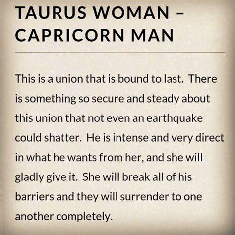 Taurus-Question How To Attract A Taurus Man Capricorn Woman.
