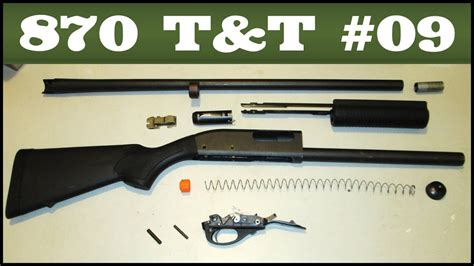 How To Break Down A Remington 870 Shotgun