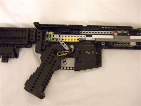 How To Build A Lego Rifle That Shoots