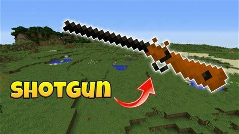 How To Build A Shotgun In Minecraft