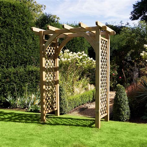 how to build a wooden garden arch.aspx Image