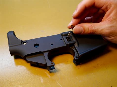 How To Build An Ar15 Lower Receiver Ultimate Visual