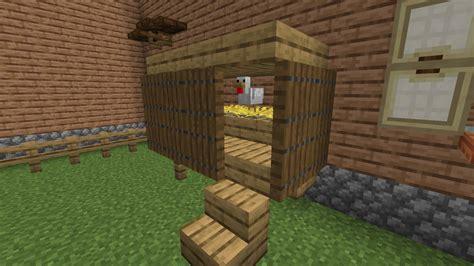 how to build chicken coop minecraft.aspx Image