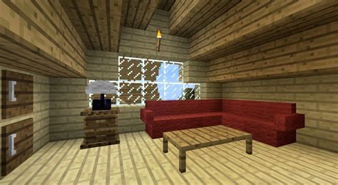how to build cool furniture in minecraft Image