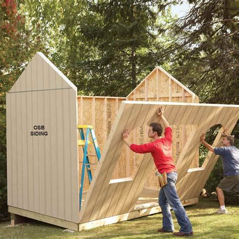 how to build outdoor storage shed Image